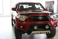 red toyota tacoma truck  sale  calgary toyota truck showroom tacoma truck
