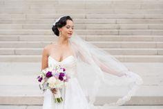 Makeup: Suzanne Hair: Shaunda #CarnegieDC #LisaBoggsPhotography #Bride #Wedding