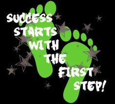 You won't get anywhere if you don't step out! It Works!