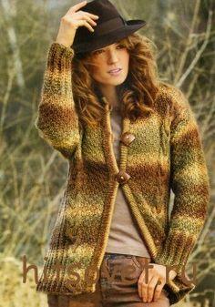 http://hitsovet.ru/melanzhevyj-zhaket-spicami-dlya-zhenshhin/ Меланжевый жакет спицами для женщин