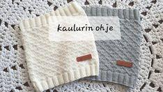 Lupaamani kaulurin ohje,olkaa hyvät! Luo pyöröpuikoille 100s. Tee joustinneuletta 2 oikein,2 nurin 10krsta. Kun joustinneule valmis tee… Knit Crochet, Crochet Hats, Fun Projects, Diy Clothes, Diy And Crafts, Knitting, Tees, How To Make, Crocheting