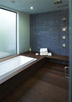 Spa Bath at the San Francisco Green Home