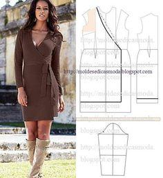 Materiales gráficos Gaby: Varios moldes de ropa femenina