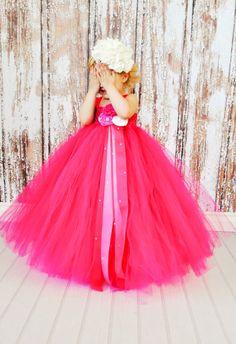 Pink & Fuchsia Wedding Dress - Love it so much!