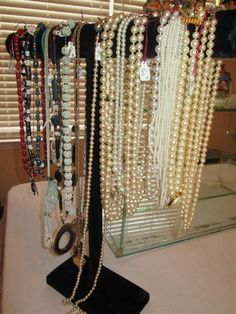 Just purchased many of these items this morning!!! Great Estate sale!!   Found on EstateSales.NET: Misc. costume jewelry necklaces (MORE jewelry to come incl. 14k & 10K)