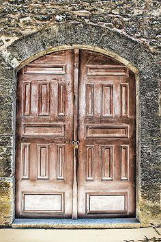 Copper doors!