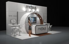 Image 14 möbius 6 x 3m Modular Exhibition Stand without the custom price tag by Love Displays www.lovedisplays.co.uk
