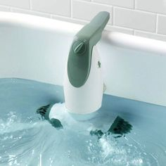 The Dual Jet Bath Spa is a portable add-on that converts any plain old bath tub into an instrument of hot tub pleasure with a soothing water flow and bubble bursts.