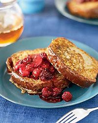 Brioche French Toast with Fresh Berry Compote // More Tasty Brunch Recipes: http://fandw.me/gvU #foodandwine