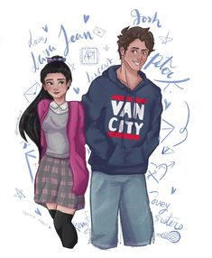 """Two days ago I finished the book """"To all the boys I've loved before"""" by and then I saw the movie, and I've loved the story! Movies For Boys, Real Movies, Cute Love Wallpapers, Movie Wallpapers, Lara Jean, Fanart, Boys Wallpaper, I Still Love You, Movie Songs"""