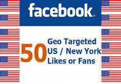 will provide 50 verified USA facebook like on your... for $1