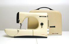NECCHI Mirella: This incredibly beautiful sewing machine was created in 1957 by Marcello Nizzoli for the NECCHI brand.