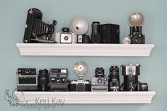 Great idea ! I should do this with some of my old cameras!  WORKSPACE: KERI KAYPHOTOGRAPHY - HAVE AN EPIPHANIE! - the Epiphanie Bags blog