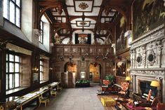 Longleat House  | Longleat House: The Great Hall. This room existed in the original ...