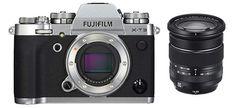 Fujifilm Systemkamera Megapixel, 6 cm Zoll) Display, Touch-Display, APS-C-Sensor) Kit inkl. R OIS WR Objektiv, silber Lightroom, Nikon, Color Plata, Fujifilm, Binoculars, Touch, Display, Kit, Mirrors
