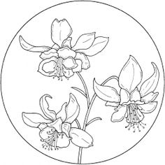 Circle with Flower 3 - bjl