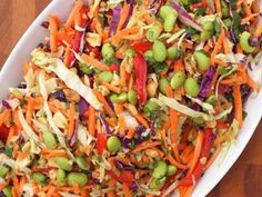 Asian Slaw with Ginger Peanut Dressing | Serious Eats: Recipes - Mobile Beta!""