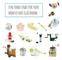 I was talking to a friend yesterday and she mentioned some of the fun food preparation activities she is planning to do with her Montessori school children. I am totally envious that this is what she gets to do for her work! I know many of these activities are suitable...