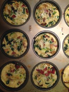 "The Urban Domestic Diva: FMD progress: My Pumped Up Version of the Fast Metabolism Diet's Loaded ""Egg White Muffins"", Phase 2"