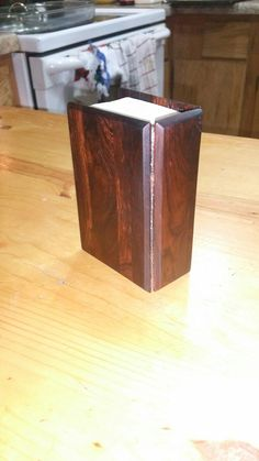 Iron wood bible cover