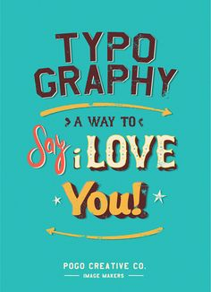 // the awesomeness of typography!