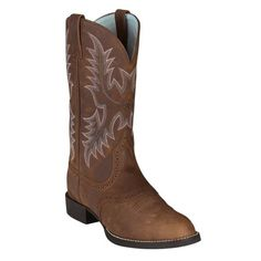 Find Ariat Women's Heritage Stockman Cowboy Boot in the Women's Western Footwear category at Tractor Supply Co.The Ariat Women's 11 in. Horse Boots, Cowgirl Boots, Plaid And Leather, Leather Boots, Western Wear, Western Boots, Western Cowboy, Tractor Supplies, Country Girls