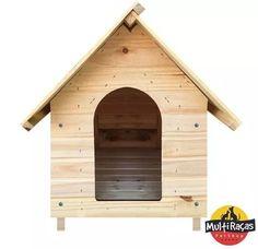 casinha cachorro madeira pinus nª1