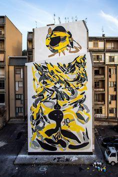 Giorgio Bartocci - Italian Street Art - Catanzaro (IT) - 05/2015 -  \*/  #giorgiobartocci #streetart #italy