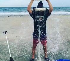 Anton Khudobin, Carolina Hurricanes, ALS Ice bucket challenge