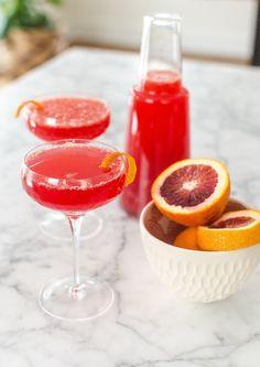Recipe: Blood Orange Mimosa Pitcher Cocktail