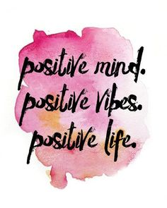 8.9AUD - Positive Mind Quote Home Decor Wall Cloth High Quality Canvas Print Art Gift #ebay #Home & Garden