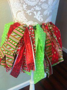 Christmas tutu for your toddler