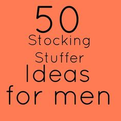 50 stocking stuffer ideas | We&Serendipity