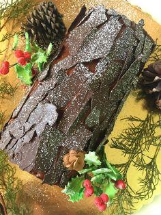 Aprende conmigo a hacer este rico Tronco de Navidad para tus fiestas Christmas Log, Christmas Cooking, Xmas, Christmas Foods, Christmas Recipes, Fashionista Cake, Chocolate Log, Shapes Biscuits, Christmas Cake Decorations
