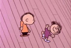 love dancing like the peanuts gang