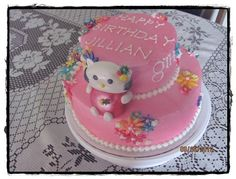 Hello Kitty Birthday Cake 2010