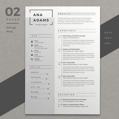 @newkoko2020 Resume Ana by Estartshop on @creativemarket