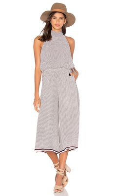 b343fc906c9e Shop for FAITHFULL THE BRAND Fleetwood Jumpsuit in Maryam Print with Lupita  Border Plum at REVOLVE. Free 2-3 day shipping and returns