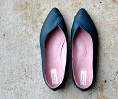 Rosaline handmade leather flats MADE to your by chebran on Etsy, $195.00