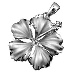 925 Silver Silver Hibiscus Pendant by Hawaiian Jewelry Jewelry Box, Jewelery, Jewelry Watches, Jewelry Accessories, Jewelry Necklaces, Jewelry Making, Turquoise Jewelry, Silver Jewelry, Hawaiian Jewelry