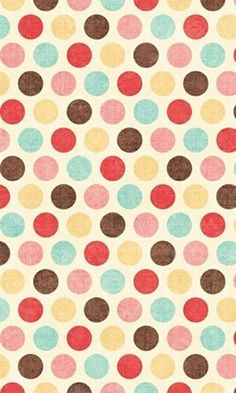 brown // pink // yellow // red // blue // polka dots