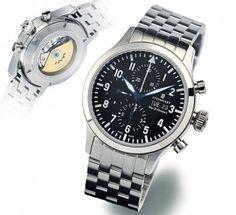 Steinhart Nav B-Chrono 44, stainless steel bracelet... Chronographs
