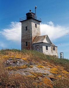 Twobush Lighthouse, 6 miles off Tenant's Harbor, Maine (2) by davensuze, via Flickr