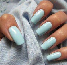 Beautiful delicate nails, Beautiful nails 2016, Beautiful summer nails, Beautiful winter nails, Celestial blue nails, Fashion nails 2016, Gentle shellac nails, Gentle summer nails