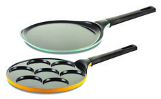 Family Plus set of 2 is the ideal pans set for making crepe and pancake but not limited to so feel free to be creative and make the breakfast as you love it.
