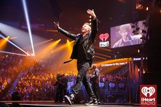 Macklemore onstage at the 2014 iHeartRadio Music Festival! #iHeartRadio