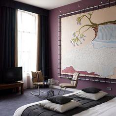 Art and recycled furniture @ The Pincoffs Hotel - www.hotelpincoffs.nl