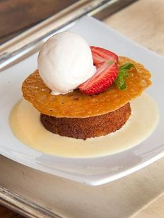 Karoo chef Tronette Dippenaar serves updollops of country food and hospitality at the historic Matjiesfontein. Try her moreish Malva Pudding.