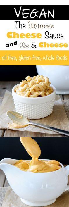Creamy Vegan Cheese Sauce | www.veggiesdontbite.com | #vegan #wholefoods #plantbased #glutenfree via @veggiesdontbite