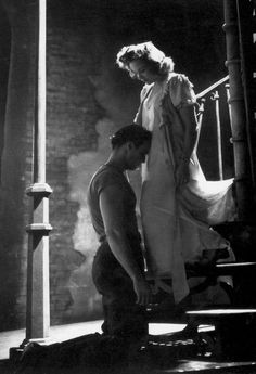 The iconic image of Brando as Stanley in A Streetcar Named Desire